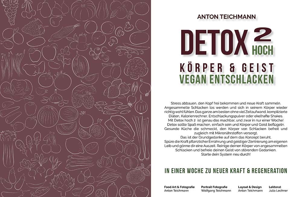 Detox hoch 2_Körper und Geist vegan entschlacken_Leseprope_Seite 2-3