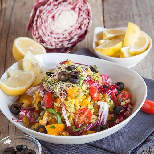 Paella Detox Salat